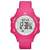 adidas Performance Sprung Basic Womens Digital LCD Sports Watch Pink