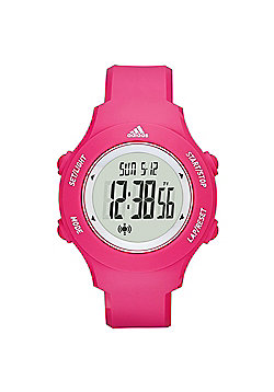 adidas Performance Sprung Basic Womens Digital LCD Sports Watch Pink