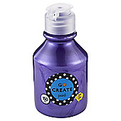 Go Create Ready Mixed Paint 150ml - Pearlescent Purple