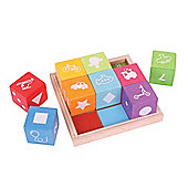 Bigjigs Toys BB091 First Picture Blocks