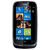 SIM Free Unlocked Nokia Lumia 610 Black