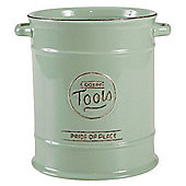 T&G Woodware Ceramic Pride of Place Cooking Tools Jar, Old Green