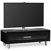 Alphason ABR1100CB Gloss Black TV Stand