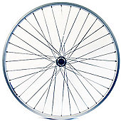 Wilkinson 700C Rear Alloy Hybrid Q/R Shimano Cassette Wheel in Silver