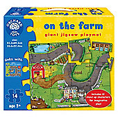 Farm Playmat Ochard toys