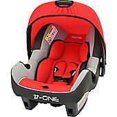 Nania Luxe Beone SP Car Seat, Agora Carmin