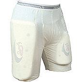 Kookaburra Protective Shorts - White