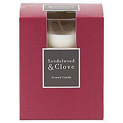 Tesco Sandalwood and Clove boxed filled Candle