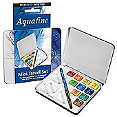 Daler Rowney Watercolour Mini travel set of 10 - Art Store