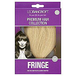 Leo Bancroft Fringe Clip - Platinum Blonde