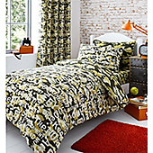 Catherine Lansfield Camouflage Curtains - 168x183cm