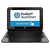 "HP Pavilion 10-e010sa, 10.1"" Touchscreen Laptop, AMD A4, 2GB RAM, 500GB - Silver"