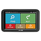 "Mio M610 Sat Nav, 5"" LCD Touch Screen, UK Maps"