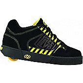 Heelys Caution Black/Yellow/Grey Heely Shoe - Black