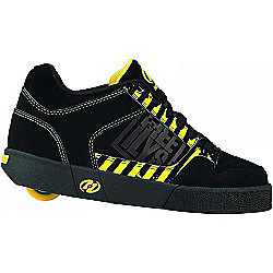 Heelys Caution Black/Yellow/Grey Heely Shoe