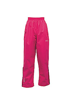 Regatta Kids Chandler Waterproof Overtrousers - Pink