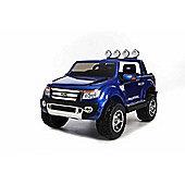 Licensed Ford Ranger Premium Upgraded 12v Kids Electric Jeep - Special Blue