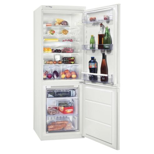 Zanussi ZRB932FW2 Fridge Freezer, Energy Rating: A+, Width 59.5cm. White