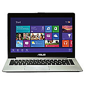 "ASUS S400CA VivoBook 14.1"" Intel Core i5, 4GB, 500GB Touchscreen Dark Grey Laptop"
