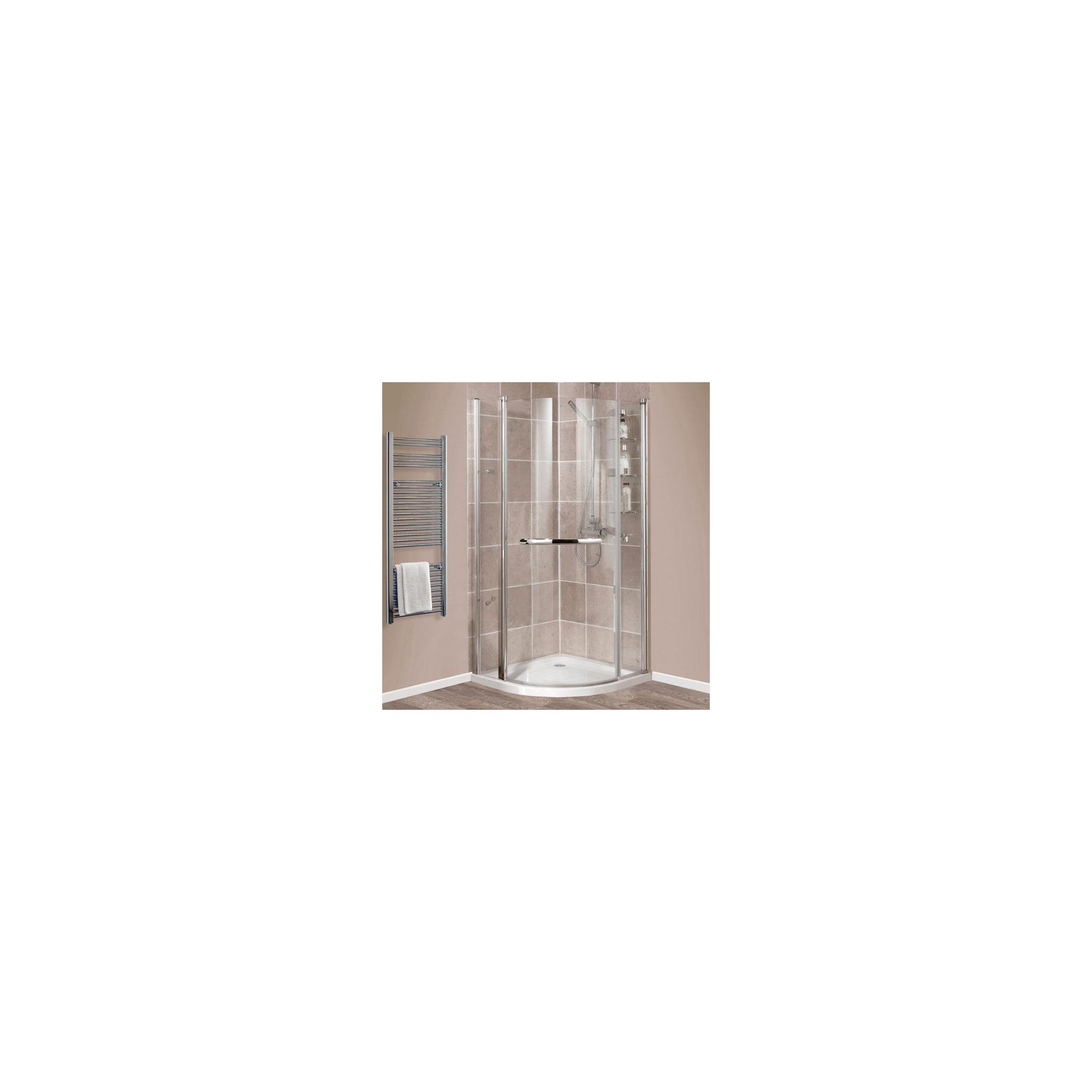 Balterley Quadrant Shower Door with Rotating Shelves, 900mm x 900mm, 6mm Glass at Tesco Direct