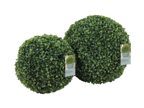 Gardman 02802 Leaf Effect Topiary Ball 30Cm