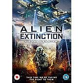 Alien Extinction DVD