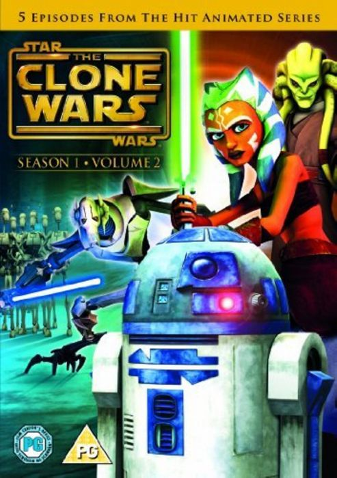 Star Wars - Clone Wars - Series 1 Vol 2 (DVD Boxset)