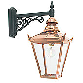 Norlys Chelsea Outdoor Wall Lantern in Copper