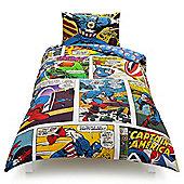Marvel Captain America Single Duvet Set