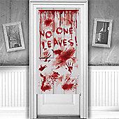 Halloween Door & Window Decs Dripping Blood Door Decoration