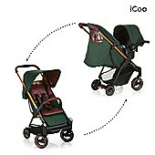 Icoo Acrobat Shop n Drive Travel System - Copper Green