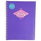 Handy A4 Wiro Project Book 210 pages 70gsm