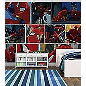 Spiderman Wall Mural - Paste The Wall