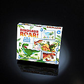 Paul Lamond's Dinosaur Roar! 4-in-1 Jigsaw Puzzles for 3yrs+