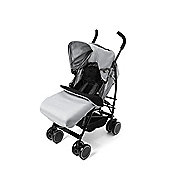 Your Baby - California Baby Buggy/Pushchair Grey & Footmuff/Cosytoes.