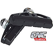 Clarks CNC-500C Road CNC Machined Brake Shoe Compatible with All Major Brake Pad Systems
