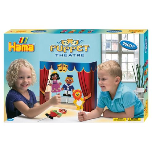 Hama Beads Puppet Theatre