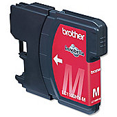 Brother LC1100HYM High Yield Magenta Ink Cartridge (Yield 750 Pages)