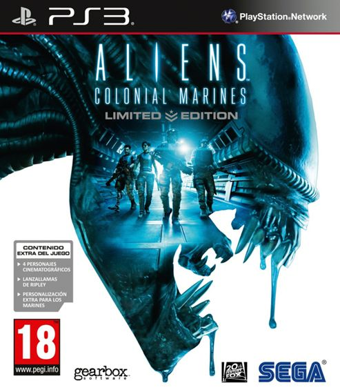 Aliens Colonial Marines: Limited Edition (PS3)
