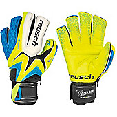 Reusch Waorani Deluxe G2 Ortho-Tec Ltd Goalkeeper Gloves - Yellow