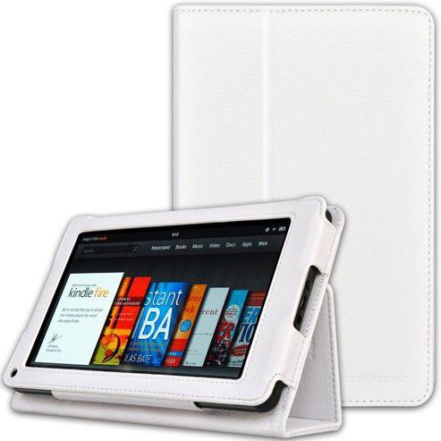 U-bop Neo-Orbit Midi Flip Case White - For Amazon Kindle Fire HD
