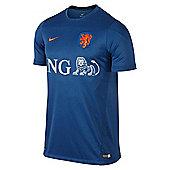 2014-15 Holland Nike Training Shirt (Blue) - Blue