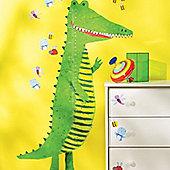 Crocodile Growth Chart Wall Sticker