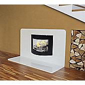 La Hacienda Barcelona Wall Mounted Bio-Ethanol Fireplace