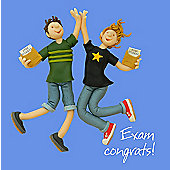 Holy Mackerel Greeting Card - Exam congrats Congratulations Greetings card
