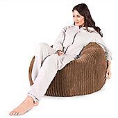 Lounge Pug™ Classic Cord Bean Bag - Sand