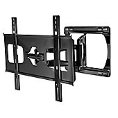 Peerless Ultra-Slim Large Articulating Wall Bracket for 37-55 Screens in Gloss Black