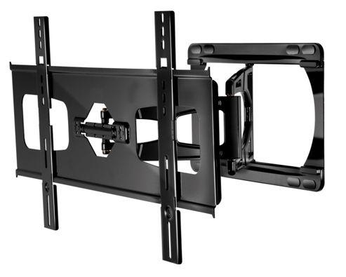 Peerless Ultra-Slim Large Articulating Wall Bracket for 37-55 Screens in Gloss Black