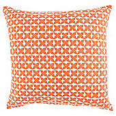 Ethnic Pattern Cushion Orange