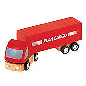 Plan Toys Cargo Truck Wooden Toy